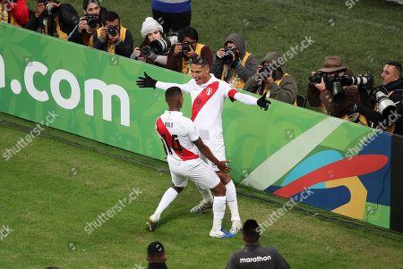 Editorial picture of Soccer Copa America Chile Peru, Porto Alegre, Brazil - 03 Jul 2019