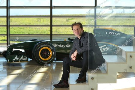 Stock Image of Jarno Trulli, who is now a winemaker