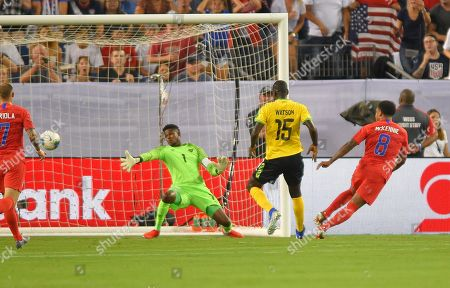 Editorial image of CONCACAF Gold Cup: Jamica vs United States, Nashville, USA - 03 Jul 2019