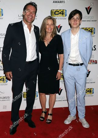 Stock Picture of David James Elliott, Nanci Chambers, Wyatt Smith