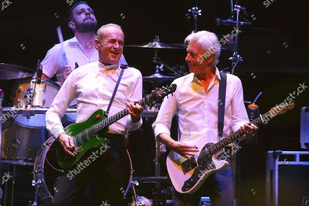 Stock Picture of Status Quo - Francis Rossi and Andy Bown