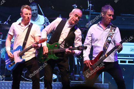 Status Quo - Richie Malone, Francis Rossi and John Edwards