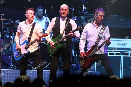 Stock Picture of Status Quo - Richie Malone, Francis Rossi and John Edwards