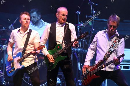 Stock Image of Status Quo - Richie Malone, Francis Rossi and John Edwards