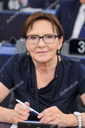 Stock Image of Ewa Kopacz