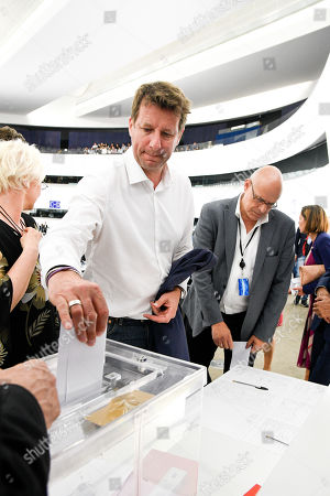 Editorial photo of European Parliament Presidential election vote, Strasbourg, France - 03 Jul 2019