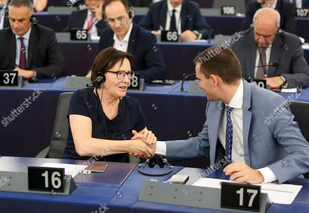 Editorial image of European Parliament Presidential election vote, Strasbourg, France - 03 Jul 2019