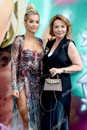 Rita Ora and Mutter Vera Sahatciu