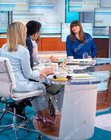 Editorial photo of 'Good Morning Britain' TV show, London, UK - 04 Jul 2019