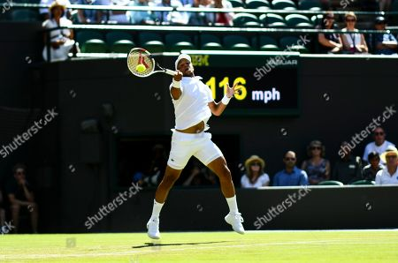 Editorial picture of Wimbledon Tennis Championships, Day 4, The All England Lawn Tennis and Croquet Club, London, UK - 04 Jul 2019