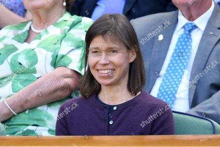 Lady Sarah Chatto on Centre Court