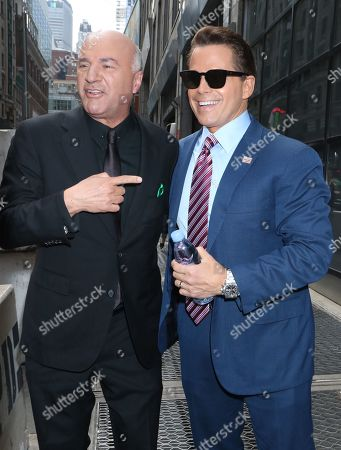 Stock Picture of Kevin O'Leary and Anthony Scaramucci
