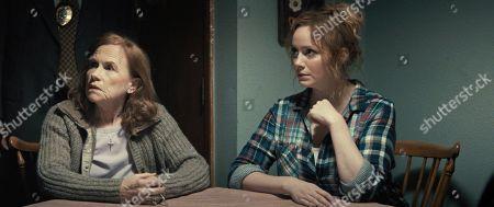 Amy Madigan as Peggy and Christina Hendricks as Katherine