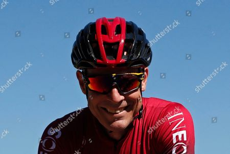 Ineos team general manager Dave Brailsford attends a training session two days ahead of the 106th edition of the Tour de France cycling race in Brussels, Belgium, France, 04 July 2019. The 106th edition of the Tour de France will start in Brussels on 06 July 2019.