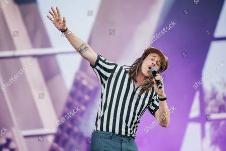 Editorial photo of Wireless Festival, Finsbury Park, London, UK - 05 Jul 2019