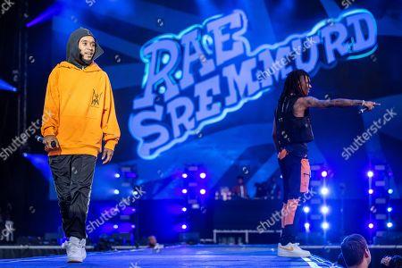Swae Lee and Slim Jimmy of Rae Sremmurd