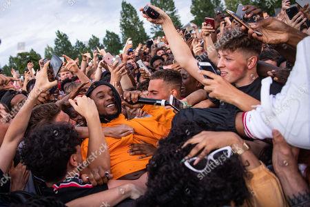 Editorial photo of Wireless Festival, Finsbury Park, London, UK - 07 Jul 2019