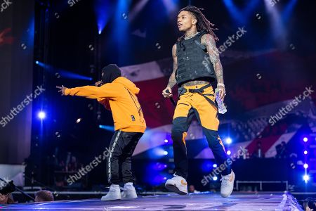 Stock Picture of Swae Lee and Slim Jimmy of Rae Sremmurd
