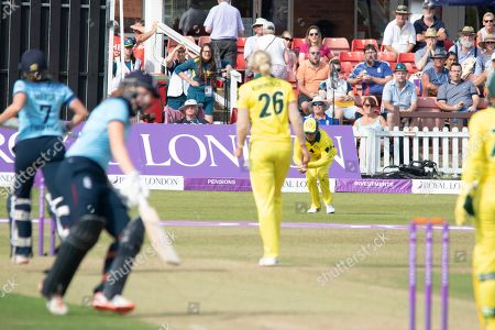 Editorial photo of England Women Cricket v Australia, Royal London ODI - 04 Jul 2019