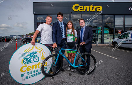 Wheelie great news! Centra ambassador, Donncha O'Callaghan today launched the Centra National Youth Cycling Championships 2019 which takes place on 17th and 18th August in Mullingar. The event is expected to attract over 250 elite young cyclists between the ages of 11 to 16, who will compete to be named Irish Champion. Hosted by Lakeside Wheelers Cycling Club in association with O'Brien's Centra, the competition will see a superb weekend of racing from the best of Irish youths. . Pictured at the launch is Donncha O'Callaghan with Irish cyclist Damien Shaw, Aoife O'Brien of Lakeside Wheelers Cycling Club and Matt McKerrow, CEO of Cycling Ireland