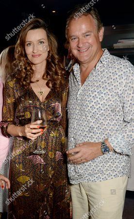 Stock Photo of Natascha McElhone and Hugh Bonneville