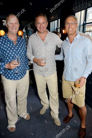 Tim McInnerny, Hugh Bonneville and Michael Le Poer Trench