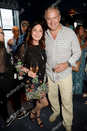 Susan Young and Hugh Bonneville