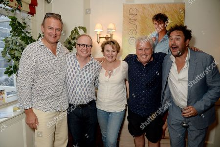 Hugh Bonneville, Jason Watkins, Monica Dolan, David Westhead and Rufus Jones
