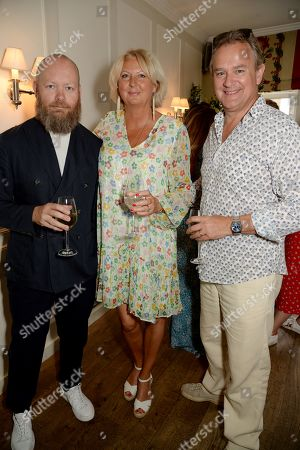 Christian Quinlan, Lulu Williams and Hugh Bonneville