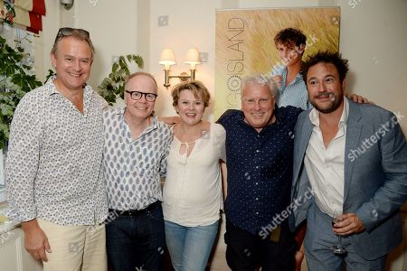 Stock Picture of Hugh Bonneville, Jason Watkins, Monica Dolan, David Westhead and Rufus Jones