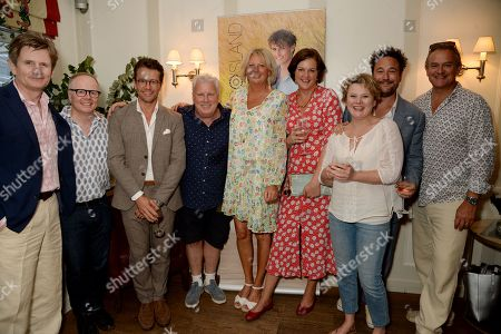 Charles Edwards, Jason Watkins, Julian Ovenden, David Westhead, Lulu Williams, Monica Dolan, Rufus Jones and Hugh Bonneville