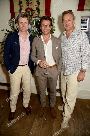 Charles Edwards, Julian Ovenden and Hugh Bonneville