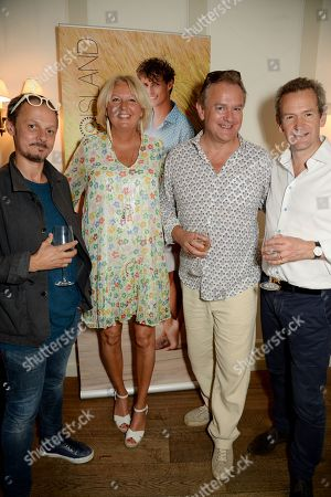 Stock Picture of Jonathan Yeo, Lulu Williams, Hugh Bonneville and Alexander Armstrong