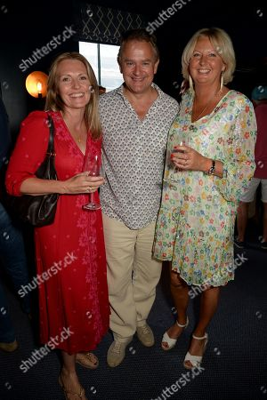 Guest, Hugh Bonneville and Lulu Williams
