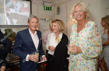 Nigel Havers, Georgiana Bronfman and Lulu Williams
