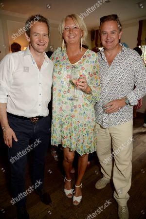Alexander Armstrong, Lulu Williams and Hugh Bonneville