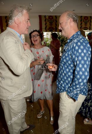 Stock Photo of Owen Teale, Annie Gosney and Tim McInnerny