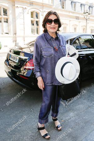 Stock Photo of Nana Mouskouri