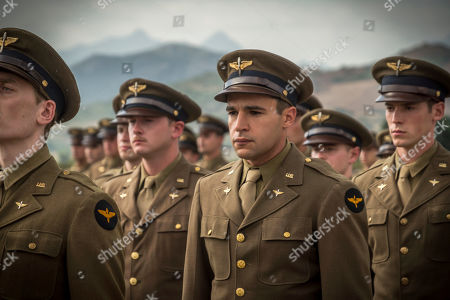 Christopher Abbott as Yossarian and Pico Alexander as Clevinger