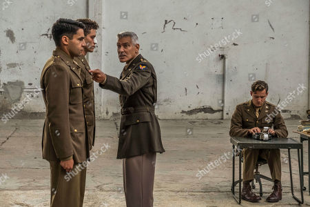 Christopher Abbott as Yossarian, Pico Alexander as Clevinger, George Clooney as Scheisskopf and Lewis Pullman as Major Major