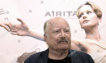 Stock Photo of Richard Dreyfuss poses during a photo call during the 65th annual Taormina Film Festival, in Taormina, Sicily Island, Italy, 04 July 2019. The festival runs from 30 to 06 July.