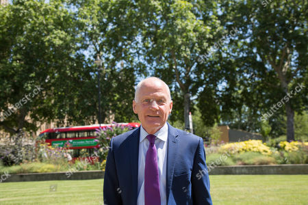 Stock Picture of Lord Michael Cashman on College Green
