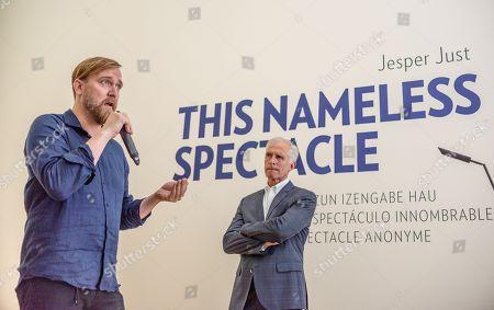 Editorial picture of Danish artist Jesper Just presents his video installation at Guggenheim Bilbao Museum, Spain - 04 Jul 2019