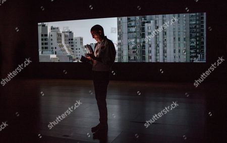 Editorial photo of Danish artist Jesper Just presents his video installation at Guggenheim Bilbao Museum, Spain - 04 Jul 2019