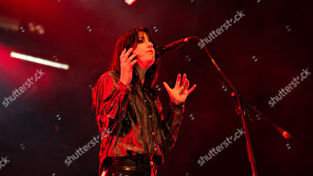Sharon van Etten performs on the Avalon stage during the Roskilde Festival, in Roskilde, Denmark, 04 July 2019. The festival runs from 29 June to 06 July.