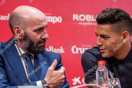 Editorial image of Sevilla FC signs Brazilian Diego Carlos as new defender for the upcoming season, Seville, Spain - 04 Jul 2019