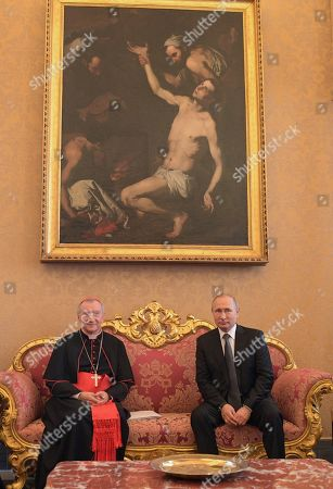 Editorial photo of Russian President Vladimir Putin visits Italy and the Vatican, Vatican City, Vatican City State (Holy See) - 04 Jul 2019