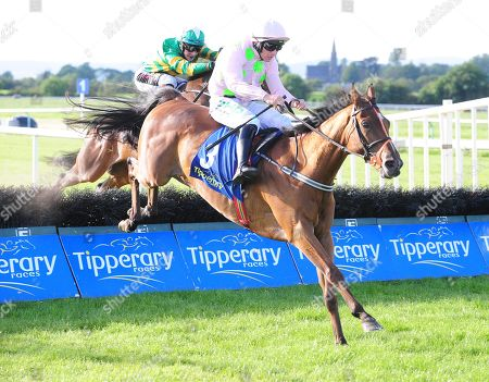 TIPPERARY Thomas Hobson and Paul Townend win the Grade 3 Kevin McManus Bookmaker Grimes Hurdle. Healy Racing