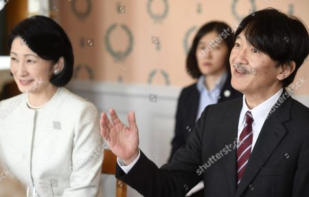 Crown Prince Akishino and Crown Princess Akishino of Japan attend dinner hosted by Fiskars Village and Raasepori Town in Raasepori. During their four-day visit, Their Imperial Highnesses will explore Finnish culture, landmarks, nature and healthcare.