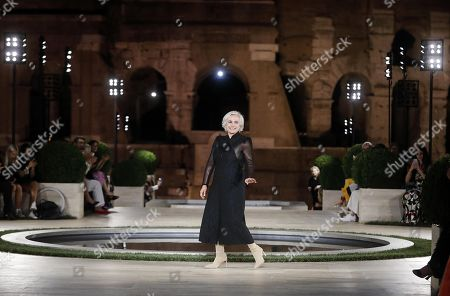 Editorial image of Fendi tribute to Karl Lagerfeld, Rome, Italy - 04 Jul 2019